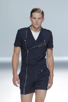 Sebastian Sauve en David Delfín Spring Summer 2013 Mercedez Benz Fashion Week Madrid