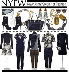 """NYFW: What a Soldier of Fashion Packs"" by ambervogue on Polyvore"