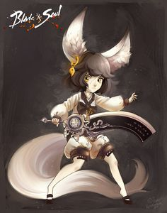 Blade and Soul: Lyn by Ashwings.deviantart.com on @DeviantArt