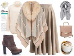 4 Autumn Winter Combine Named von gerösteten Kaffeebohnen – Hijab Fashion 2020 Mode Outfits, Trendy Outfits, Fashion Outfits, Womens Fashion, Cute Skirt Outfits, Cute Skirts, Hijab Stile, Street Hijab Fashion, Dresses Elegant