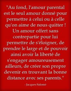 Touchante #citation de Jacques Salomé