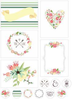 Free floral printable by Sadie Maughan