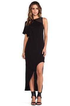 HIDDEN TANK DRESS OAK in Black