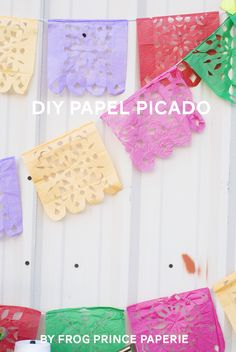 Now for the fun part! Check out all the talented contributors to this Cinco de Mayo Party Hop and get the how-tos on how to make everything. For the inspirational shoot, I made these pretty Papel Picado banners that are a fantastic backdrop for any fiesta. The Mexican folk art papel picado is traditionally made …