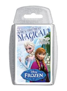 Top Trumps - Disney Frozen Card Game: Who is the most magical character in Frozen? Find out with this classic Top Trumps card game that features all your favourite characters from Disney Frozen! Disney Frozen Toys, Disney On Ice, Frozen Cards, Frozen Party Favors, Frozen Love, Frozen Merchandise, Trump Card, Top Trumps, Top Toys