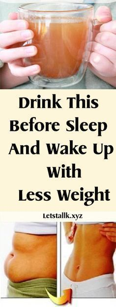 Drink This Before Sleep And Wake Up With Less Weight