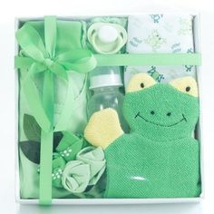 Little Leap Frog Neutral Baby Gift Hamper Baby Shower Gifts, Baby Gifts, Baby Gift Hampers, Baby Socks, Baby Bottles, Baby Design, Corporate Gifts, Baby Bodysuit, New Baby Products