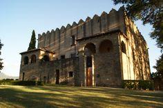 Castell de Montesquiu, a la comarca d'Osona (Catalonia)