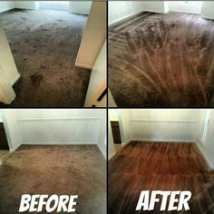 Real life >>Before & After<< carpet cleaning pictures! #homeprorestoration #carpetcleaning #carpetrestoration