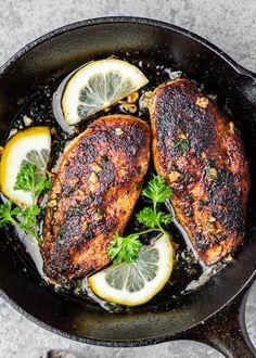 Healthy Oatmeal Cookies | Gimme Delicious Air Fryer Fried Chicken, Baked Chicken, Chicken Recipes, Garlic Chicken, Stuffed Chicken, Garlic Parmesan, Butter Chicken, Chicken Pasta, Garlic Shrimp