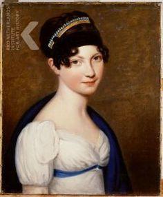Portret van Maria Anna Henriette von Kantzow (1801-1872)