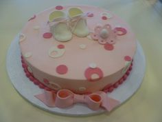 Baby shower cakes for girls baby care answers | Baby shower decoration ideas