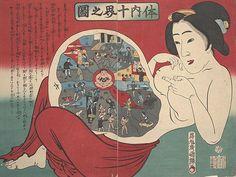 Japanese medical print
