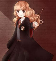 harry potter anime hermione - Google Search