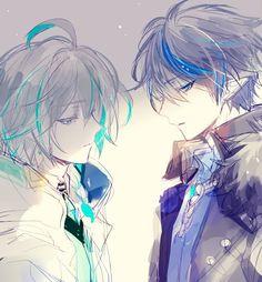 Ciel x Ain (elsword) Boys Anime, Cool Anime Guys, Chica Anime Manga, Cute Anime Boy, Manga Boy, Kawaii Anime, Cute Anime Character, Character Art, Ciel E