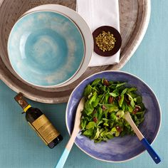 How does a side salad become a conversation piece? Add in some colorful Wonki Ware!