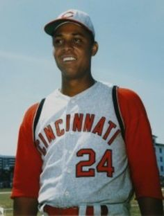 First Baseman, Hall of Famer Tony Perez (Class of 2000) was identified, on numerous occasions, by Manager Sparky Anderson as the heart and soul of the Big Red Machine. c. 1965