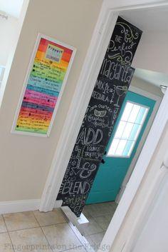 "Rustic Brown Altatac Rustic Wooden Framed Free Standing Chalkboard 16"" x 12"""