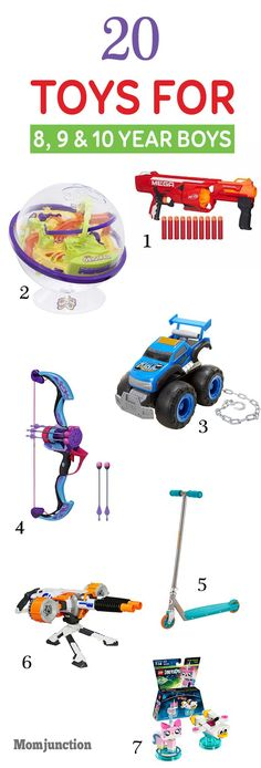 20 Best Toys For 8, 9 & 10 Year Old Boys