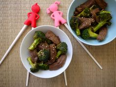 Beef and Broccoli Stir Fry on Weelicious