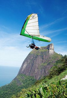 If you're a fan of adventure, you can go hang gliding and enjoy the view of the city in its best perspective – from the sky.