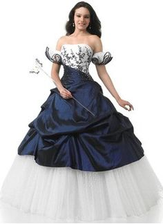 Ball-Gown Strapless Floor-Length Taffeta Tulle Quinceanera Dress With Ruffle Sash Beading