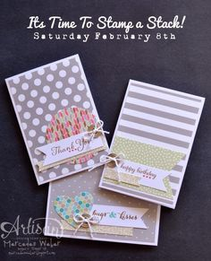 Stampin Up Card Kits Rock!