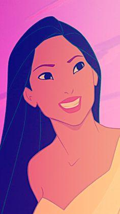 """""""Pocahontas"""". She's so pretty!"""