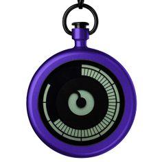 Deze gaat regelrecht mijn verlanglijstje op: Titan+(purple) watch by Ziiiro. Available at Dezeen Watch Store: www.dezeenwatchstore.com
