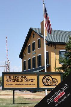 my blessed life:huntsville,alabama virtual tour~huntsville attractions-the historic huntsville depot-alabama's transportation museum