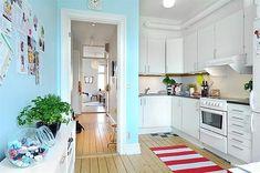 skandinavische Küchen Designs - herrliches Interior