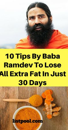 10 tips by baba ramdev to lose fat in just 30 days
