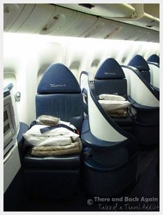 Fist Class Seats in a airlines.