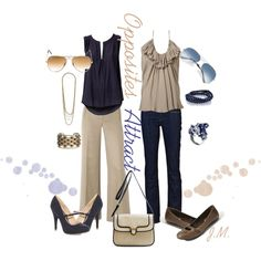 """Opposites Attract"" by jenniemitchell on Polyvore"