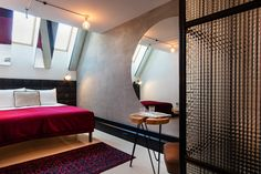Hotel Rum Budapest is a boutique design hotel with a rooftop bar, located in the city center of Budapest. Cotton Sheets, Local Artists, Restaurant Bar, Budapest, Contemporary, Modern, Bedroom, Classic, Spiced Rum