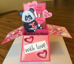 Beccy's Place - Wild About You Set Valentine Cards, Valentines Day, Heart Cards, Digital Image, Create, Box, Animals, Valentine's Day Diy, Snare Drum