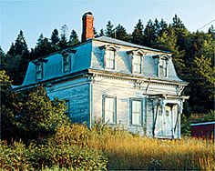 Abandoned Maine buildings -- Living — Bangor Daily News — BDN Maine.. love these old homes with that  Mansard roof...