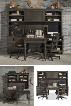 Quality and world-class craftmanship was at the front of our mind when we designed the Oxford collection. Smartly styled with an traditional design and gorgeous gunmetal hardware, the Oxford collection will keep you inspired in your home for years to come. #shopgahs #homeoffice #officespace #officefurniture #office #modularwall #desk #officestorage #officechair