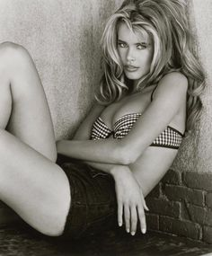 Claudia Schiffer (Photography by Herb Ritts)