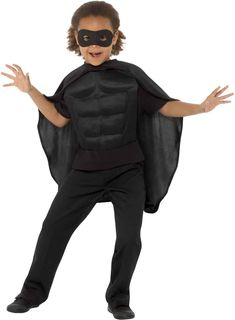 Kids Superhero Kit Superhero Fancy Dress, Kit, Dress Up, Black, Tops, Women, Products, Fashion, Shopping