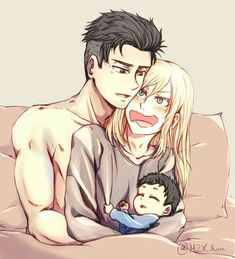 Otabek & Yuri || Credits to the artist