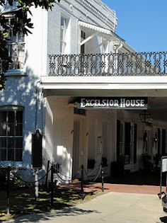 The Excelsior House.  Some say it's haunted! Jefferson, TX