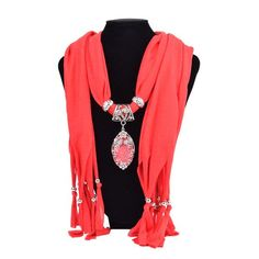Charms Scarfs  Water Drop Necklace Pendant Jewelry pendants