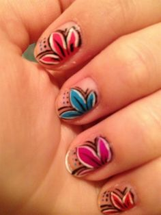 floral - Nail Art Gallery