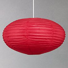 Buy House by John Lewis Easy-to-fit Tina Paper Shade, Pink Online at johnlewis.com