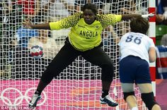 http://www.MilitaryGradeNutritionals.com/blog  Handed a beating: Angola romped to victory over Team GB in the handball, the hosts' fourth defeat