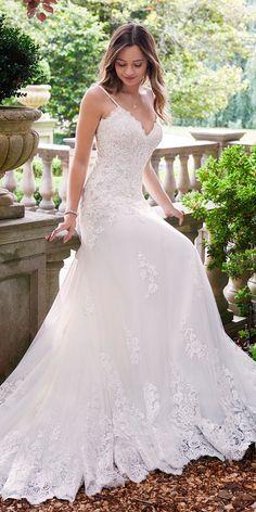 Revealing New Wedding Dresses 2019 ❤ See more: http://www.weddingforward.com/wedding-dresses-2019/ #weddingforward #bride #bridal #wedding