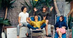 Upon arriving in Los Angeles for their August 23, 1964 concert at the Hollywood Bowl the Beatles discovered their reservations at the Ambassador Hotel had been revoked due to the hotel's fear of a deluge of frenzied fans. British actor Reginald Owen offered to rent them his Bel Air mansion for four days before they headed off to their next concert at Red Rocks in Colorado.    The Lost Beatles Photographs: The Bob Bonis Archive, 1964-1966 by Larry Marion  Photograph by Bob Bonis © 2011…