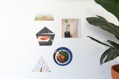 Shape prints! Use the Parabo app to turn photos from your phone into double sided, crazy shaped prints.