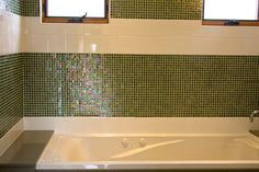 nice tile work, maybe in blue...